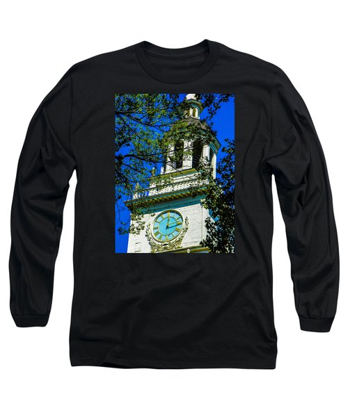 Independence Hall Clock Tower Long Sleeve T-Shirt