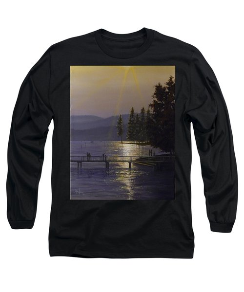 Independence Point, Lake Coeur D'alene Long Sleeve T-Shirt