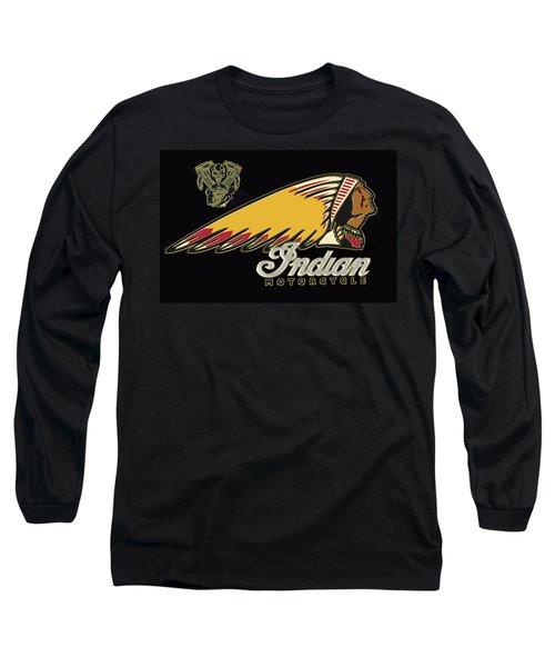 Indian Motorcycle Logo Series 2 Long Sleeve T-Shirt