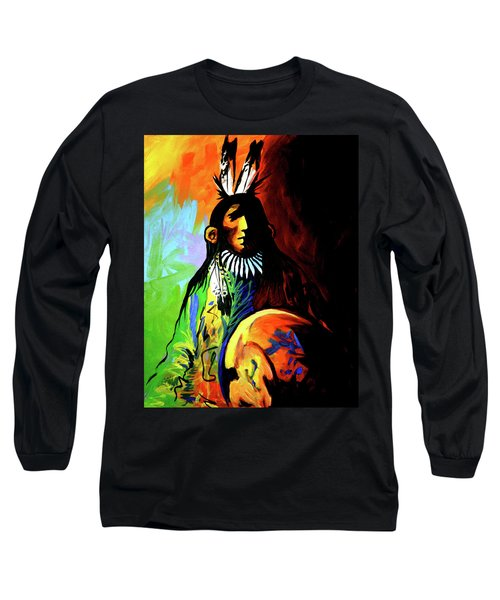 Indian Shadows Long Sleeve T-Shirt