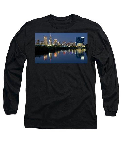 Indianapolis Night Long Sleeve T-Shirt