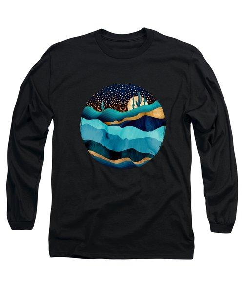 Indigo Desert Night Long Sleeve T-Shirt