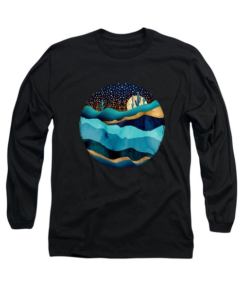 Indigo Desert Night Long Sleeve T-Shirt