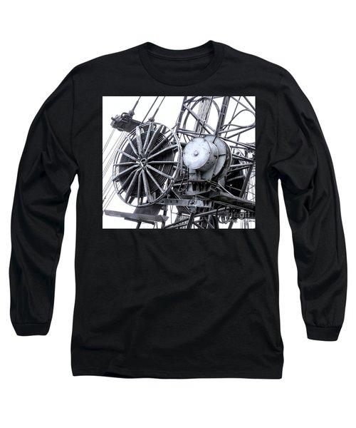 Industrial Excavating Equipment Long Sleeve T-Shirt
