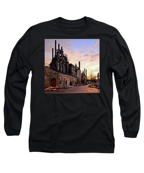 Industrial Landmark Long Sleeve T-Shirt