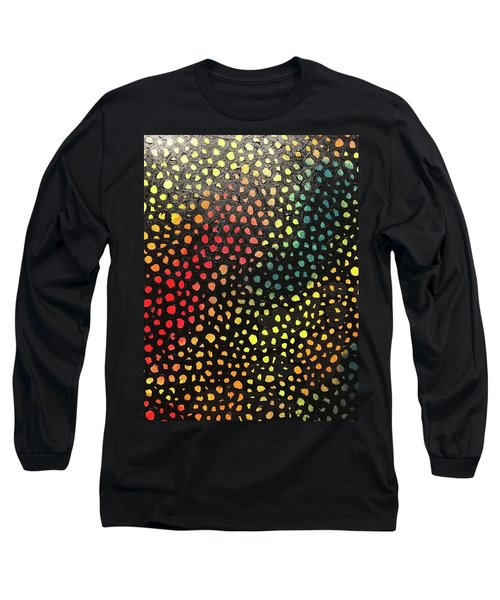 Infinity Net Detail Long Sleeve T-Shirt