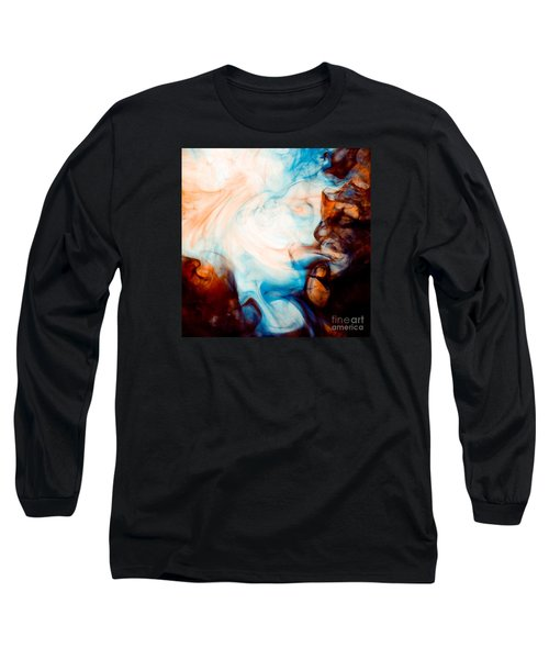 Ink Swirls 001 Long Sleeve T-Shirt