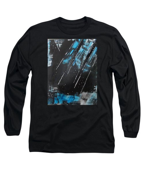 Long Sleeve T-Shirt featuring the painting Inner Flight by Sharyn Winters