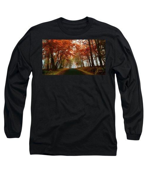 Inner Line Road At Valley Forge Long Sleeve T-Shirt