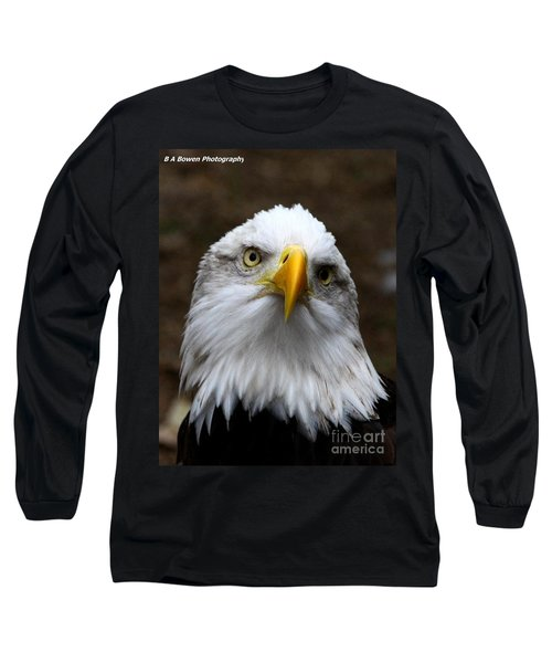 Inquisitive Eagle Long Sleeve T-Shirt