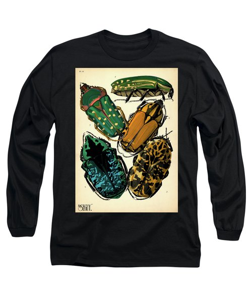 Insects, Plate-12 Long Sleeve T-Shirt