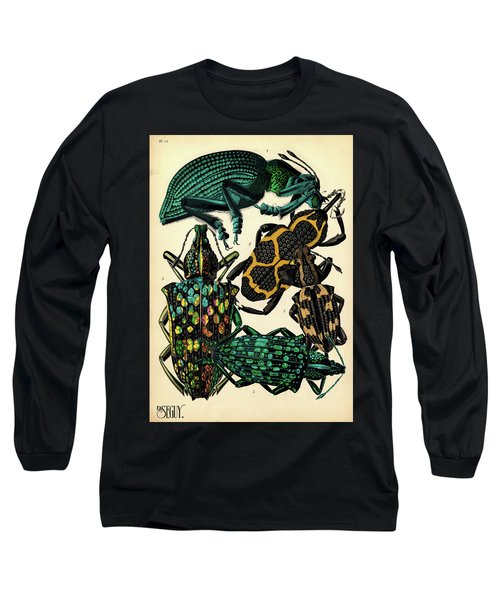 Insects, Plate-14 Long Sleeve T-Shirt