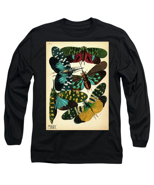 Insects, Plate-16 Long Sleeve T-Shirt