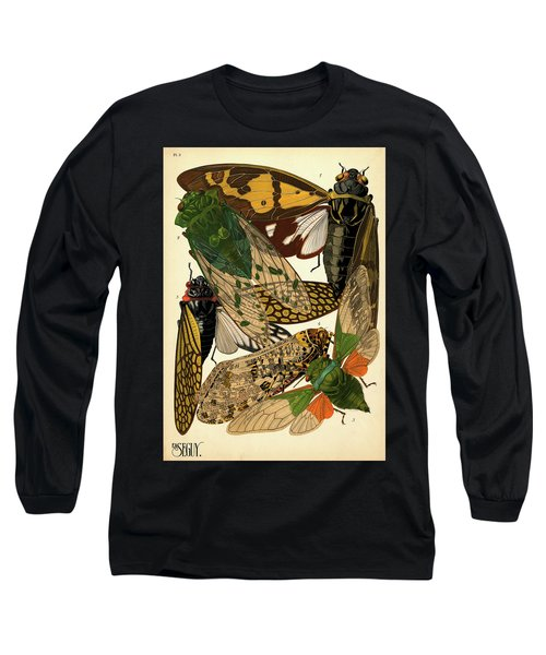 Insects, Plate-2 Long Sleeve T-Shirt