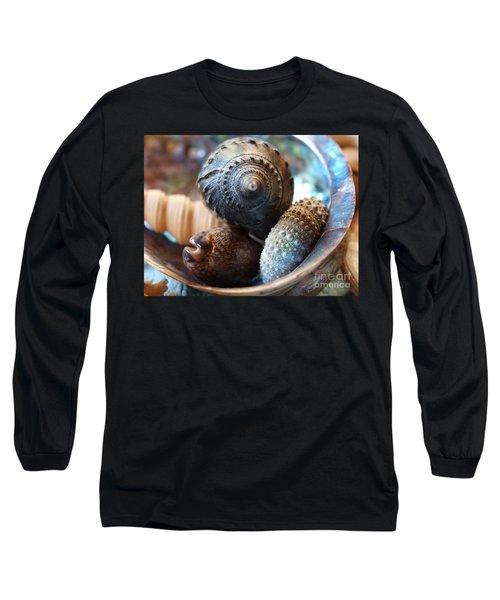 Inside A Shell Long Sleeve T-Shirt