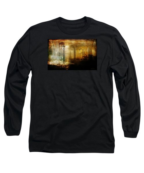Inside Where It's Warm Long Sleeve T-Shirt by Bellesouth Studio