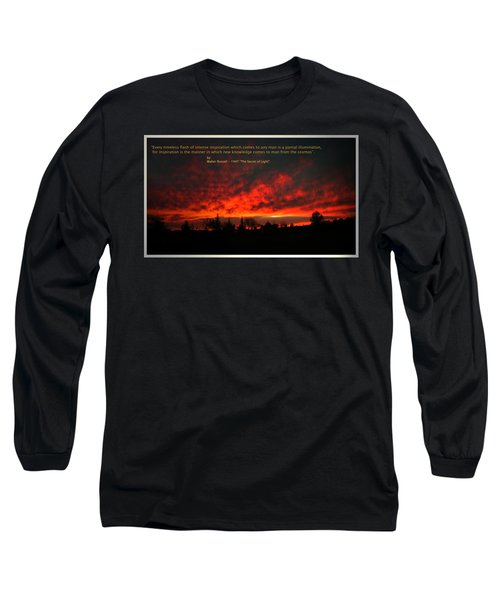 Long Sleeve T-Shirt featuring the photograph Inspiration by Joyce Dickens