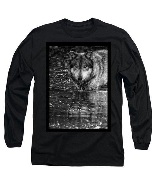 Intense Reflection Long Sleeve T-Shirt by Shari Jardina