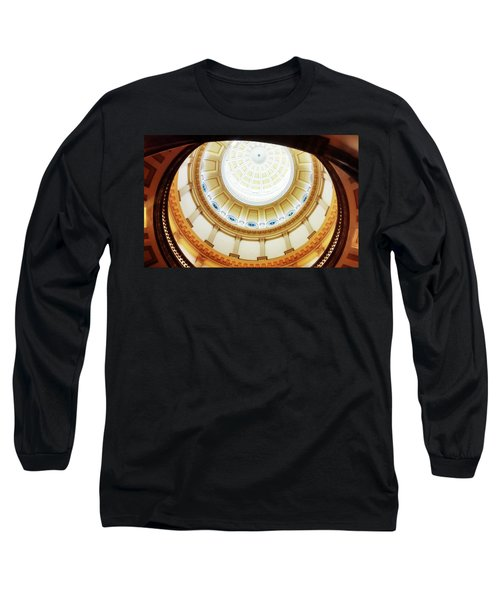 Long Sleeve T-Shirt featuring the photograph Interior Denver Capitol by Marilyn Hunt