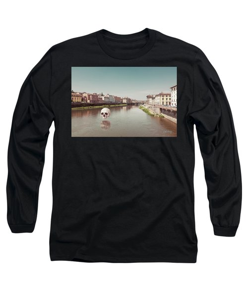 Long Sleeve T-Shirt featuring the photograph Interloping, Florence by Joseph Westrupp