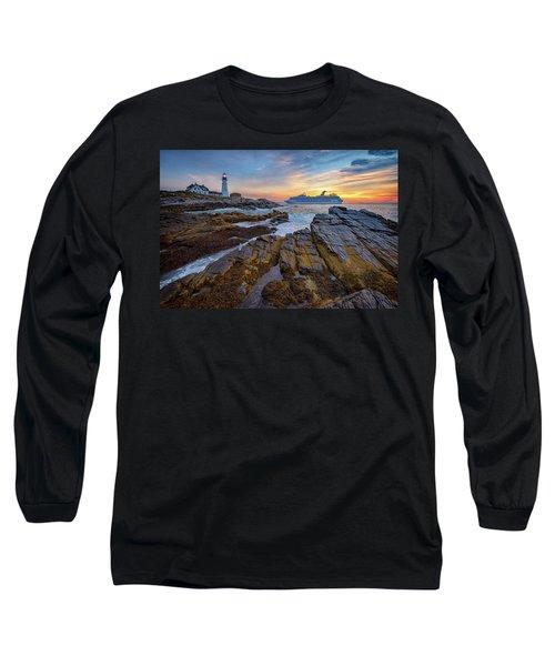 Into Portland Harbor Long Sleeve T-Shirt