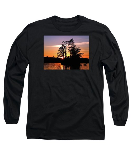 Into Shadow Long Sleeve T-Shirt by Lynda Lehmann