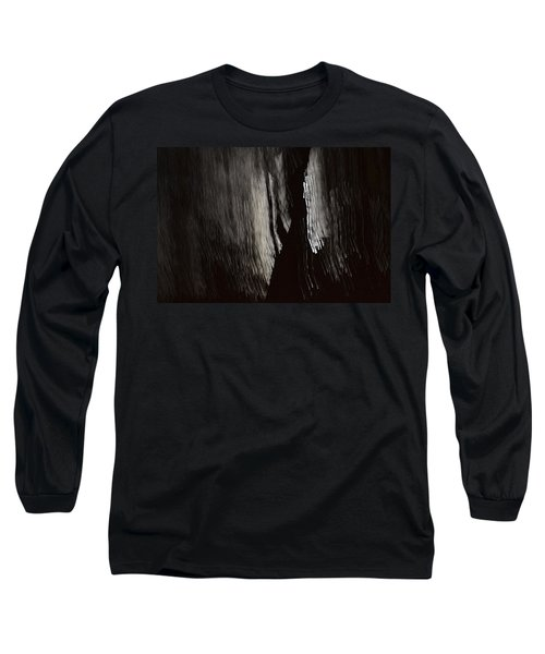Into The Dark  Long Sleeve T-Shirt by Nadalyn Larsen