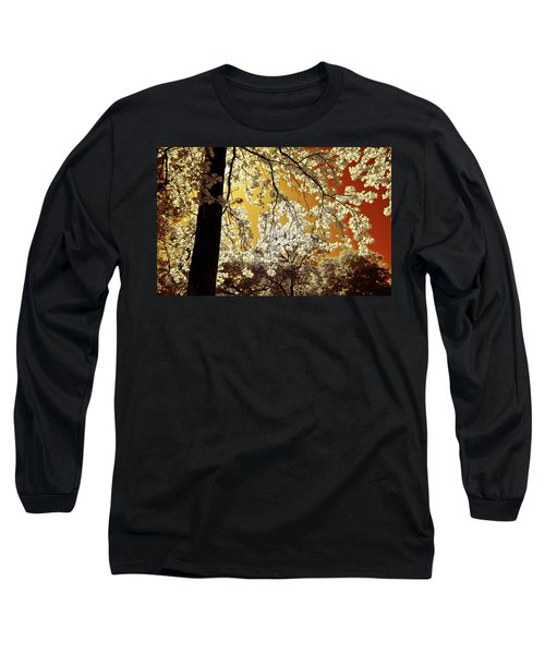 Long Sleeve T-Shirt featuring the photograph Into The Golden Sun by Linda Unger
