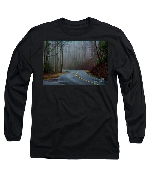 Into The Mist Long Sleeve T-Shirt by Douglas Stucky