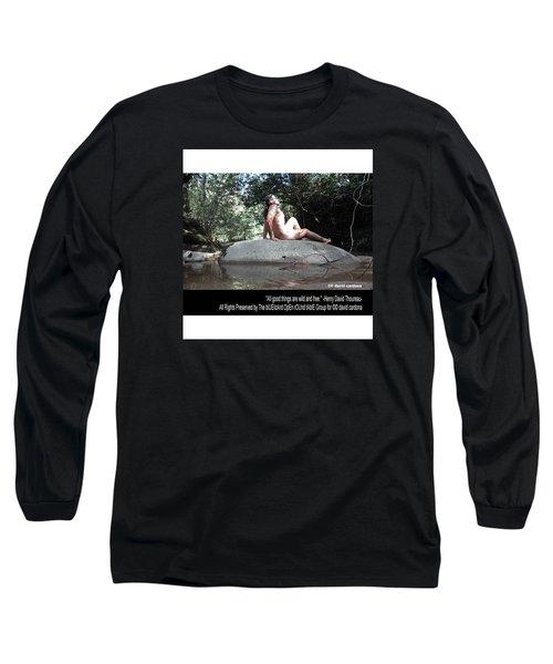 Into The Wild Long Sleeve T-Shirt by David Cardona