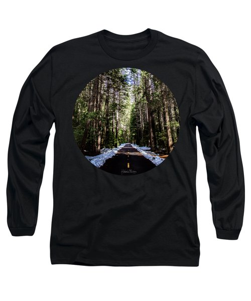 Into The Woods Long Sleeve T-Shirt by Adam Morsa