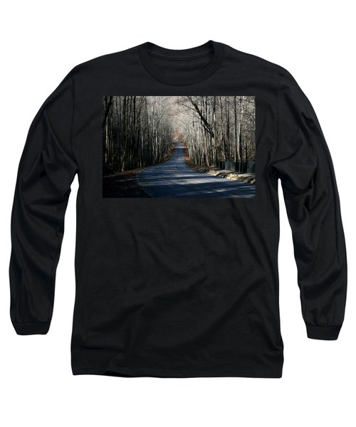 Long Sleeve T-Shirt featuring the photograph Into The Woods by Cathy Harper