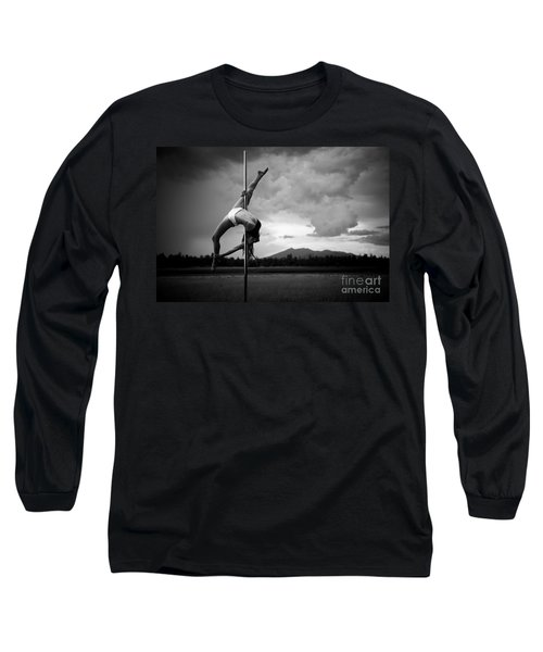 Inverted Splits Pole Dance Long Sleeve T-Shirt