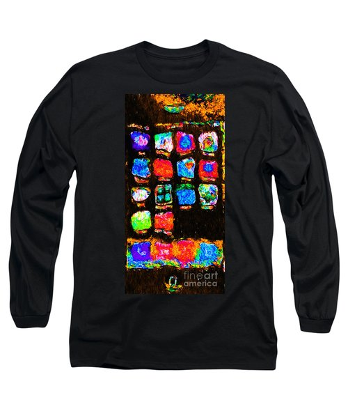 Iphone In Abstract Long Sleeve T-Shirt