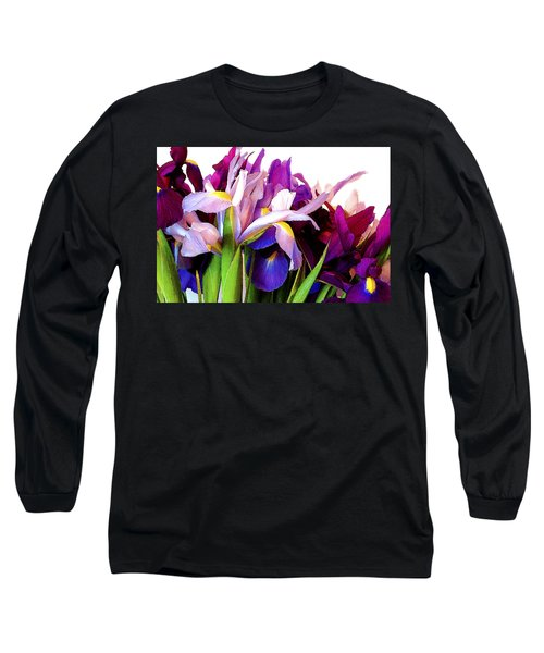 Iris Bouquet Long Sleeve T-Shirt