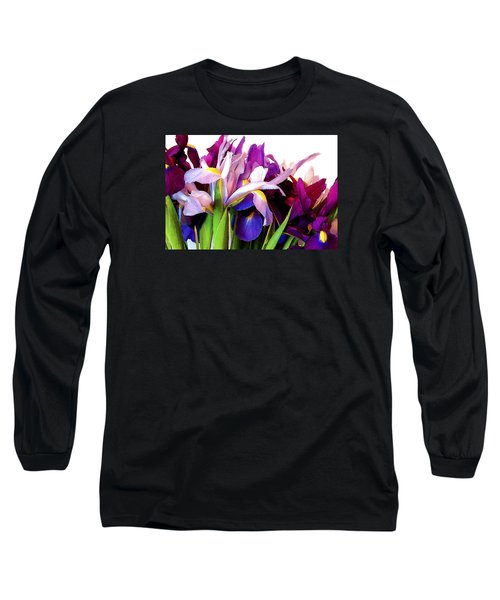 Iris Bouquet Long Sleeve T-Shirt