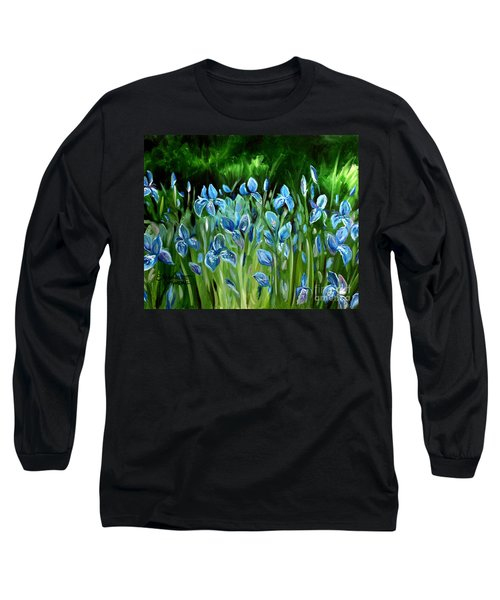 Iris Galore Long Sleeve T-Shirt
