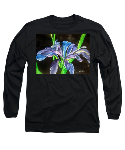 Iris Long Sleeve T-Shirt by Lil Taylor