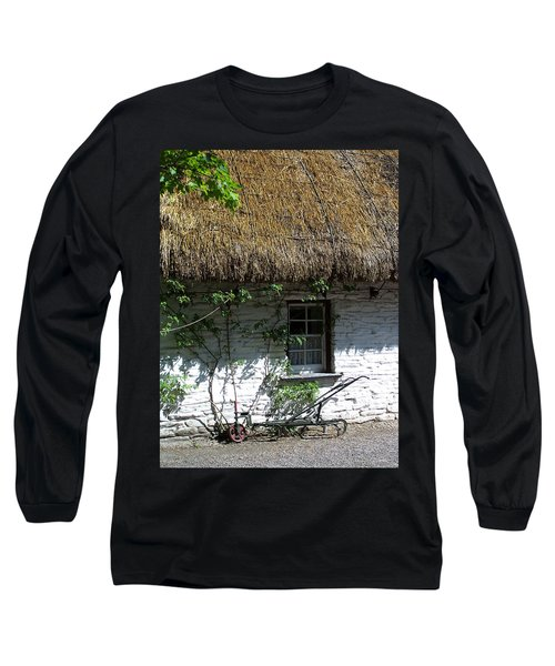 Irish Farm Cottage Window County Cork Ireland Long Sleeve T-Shirt