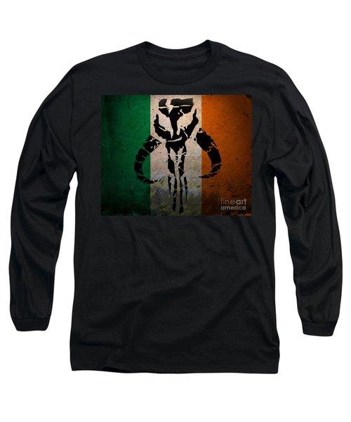 Irish Mandalorian Long Sleeve T-Shirt
