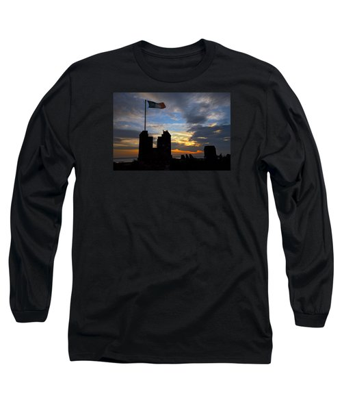 Irish Sunset Over Ramparts 2 Long Sleeve T-Shirt