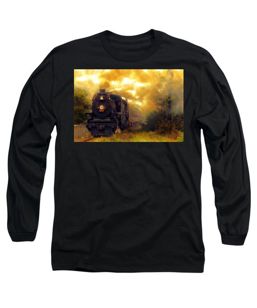 Long Sleeve T-Shirt featuring the photograph Iron Horse by Aaron Berg