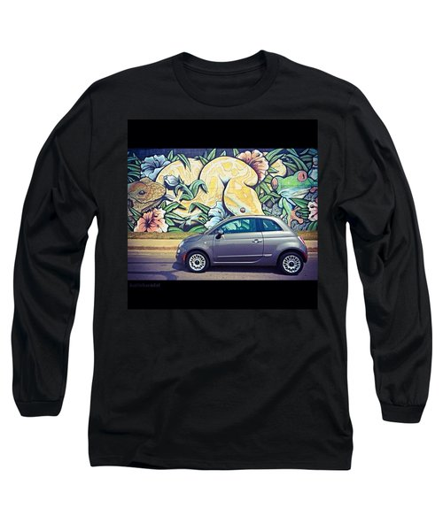 Is It Safe To Drive Mr. #fiat Into The Long Sleeve T-Shirt