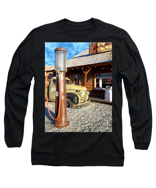 Long Sleeve T-Shirt featuring the photograph Is That You - Route 66 California by Glenn McCarthy Art and Photography