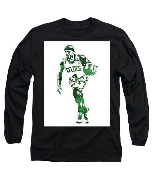 Isaiah Thomas Boston Celtics Pixel Art 4 Long Sleeve T-Shirt