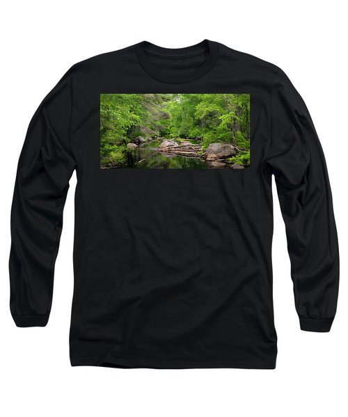 Isinglass River, Barrington, Nh Long Sleeve T-Shirt by Betty Denise