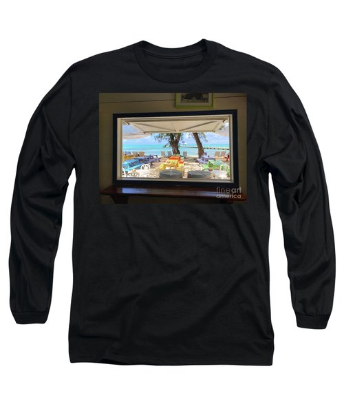 Island Bar View Long Sleeve T-Shirt