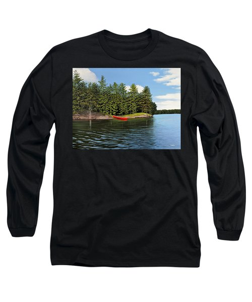 Island Retreat Long Sleeve T-Shirt