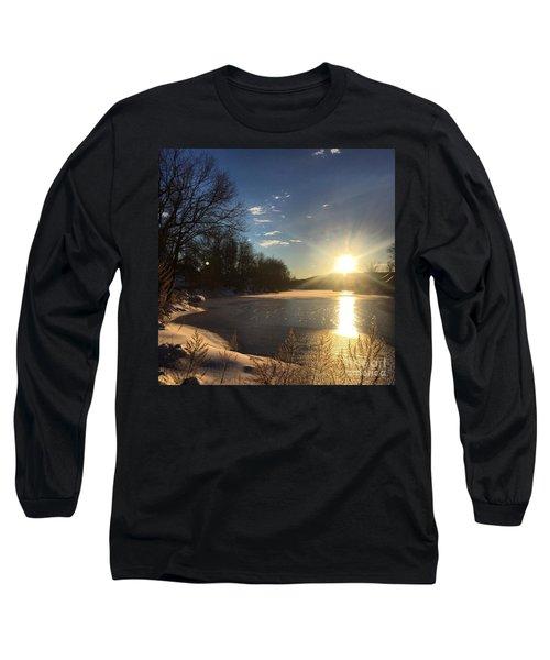iSunset Long Sleeve T-Shirt by Jason Nicholas