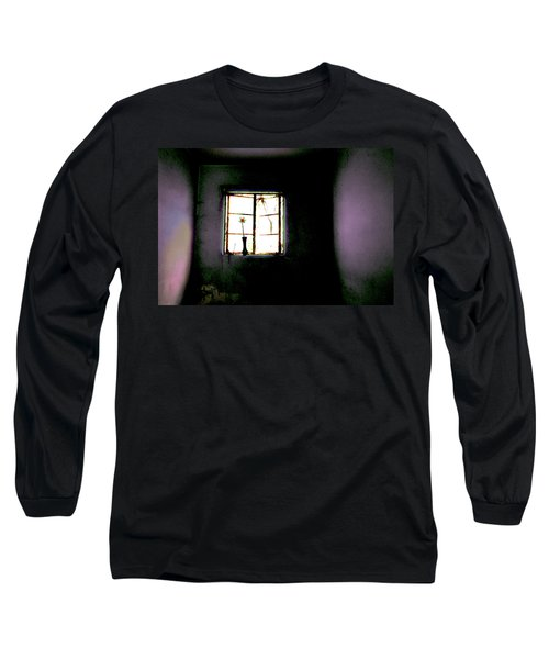 Long Sleeve T-Shirt featuring the photograph It Was Her Room... by Gray  Artus